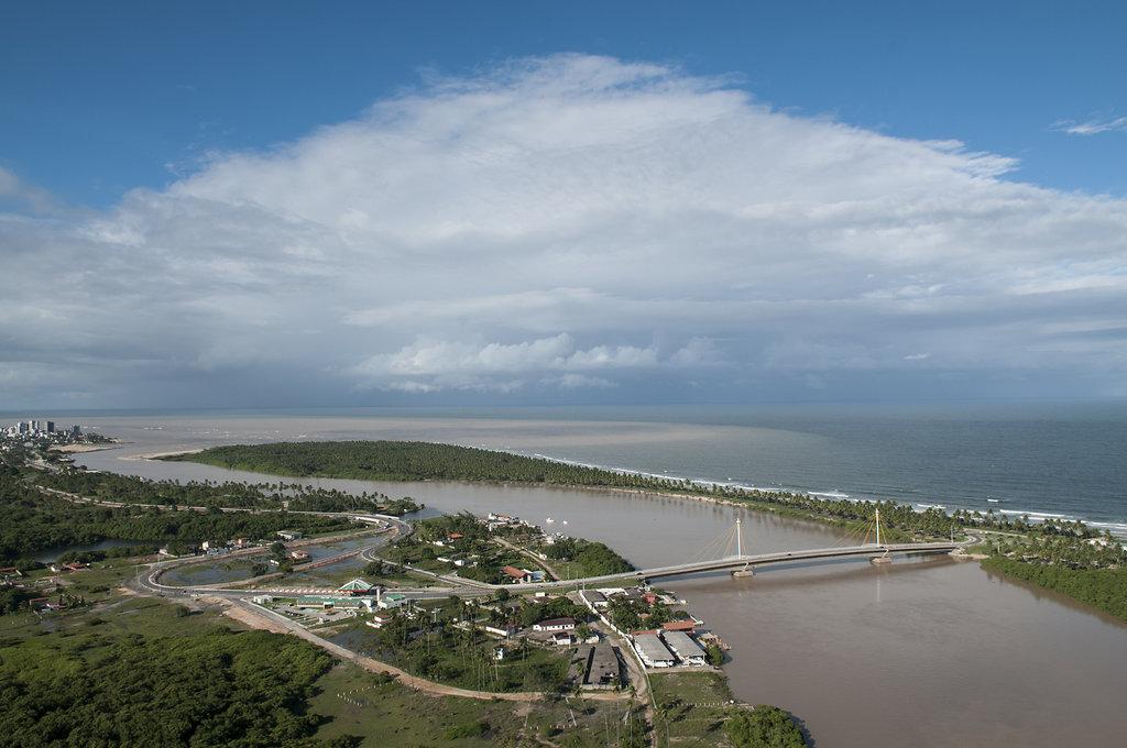 Ponte da Praia do Paiva Jaboatão dos Guararapes, PE.