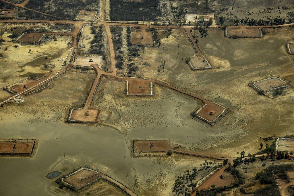 Extração de petróleo Rio Grande do Norte.